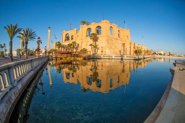 Das Rote Kastell in Tripolis